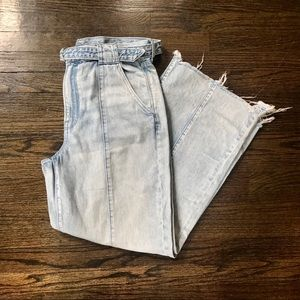 NWOT American Eagle Outfits Wide Leg Jeans Short